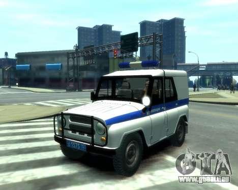 UAZ 31512 Polizei für GTA 4