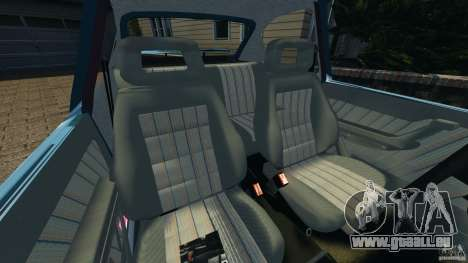 Chevrolet Kadett GSI pour GTA 4 est une vue de l'intérieur