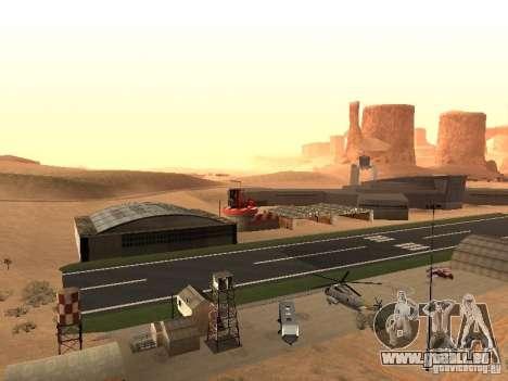 Le nouvel aéroport pour GTA San Andreas deuxième écran