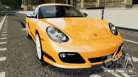Porsche Cayman R 2012 [RIV] pour GTA 4