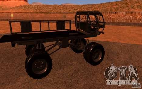 Heist Truck für GTA San Andreas rechten Ansicht