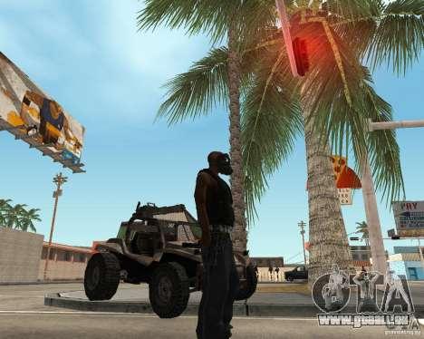 Robber pour GTA San Andreas deuxième écran
