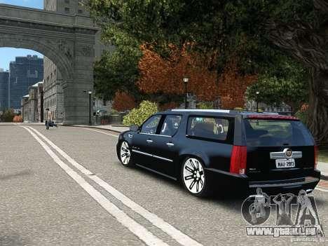 Cadillac Escalade ESV 2012 DUB für GTA 4 rechte Ansicht