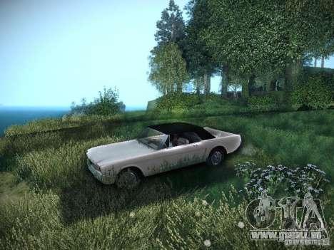 Ford Mustang Convertible 1964 pour GTA San Andreas vue de droite