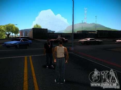 Changer les caractères pour GTA San Andreas troisième écran
