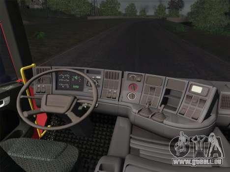 Scania 94D-260 Corpo Bombeiros SP pour GTA San Andreas roue