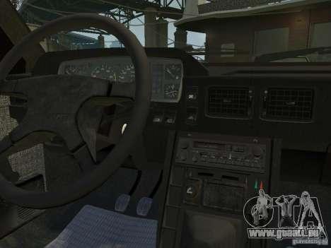 FSO Polonez Caro pour GTA 4 est une vue de l'intérieur