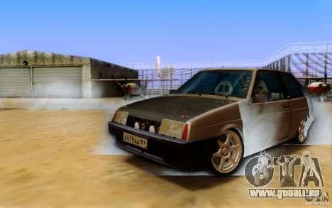 ENBSeries By Eralhan pour GTA San Andreas troisième écran
