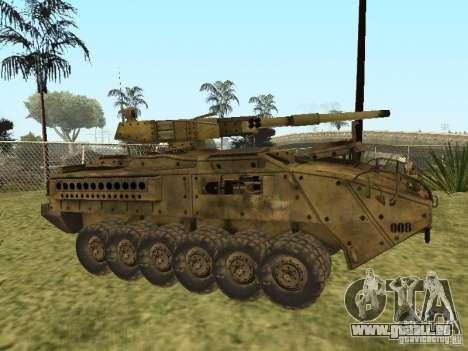 BMTV M1128 MGS pour GTA San Andreas laissé vue