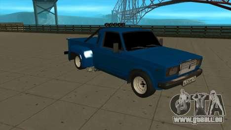 VAZ 2107 Ford pour GTA San Andreas