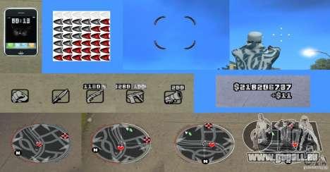 Ultra HUD v2.0 für GTA San Andreas