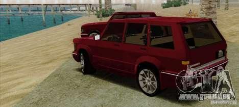 Huntley Freelander für GTA San Andreas linke Ansicht