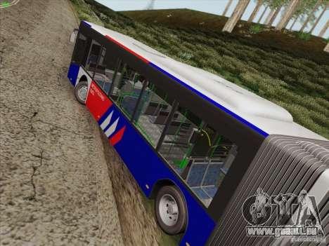 Design X3 pour GTA San Andreas vue de droite