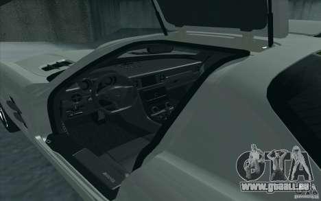 Mercedes-Benz SLS AMG 2010 pour GTA San Andreas laissé vue