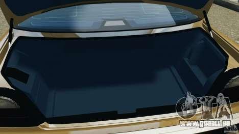 BMW 750iL E38 1998 pour GTA 4 est une vue de dessous