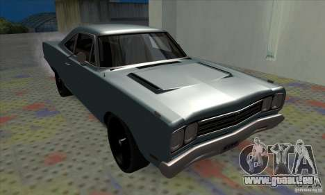 Plymouth Roadrunner für GTA San Andreas linke Ansicht