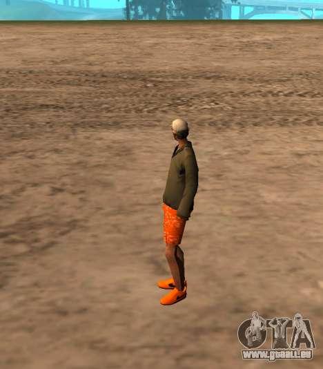 Skin id 212 pour GTA San Andreas deuxième écran
