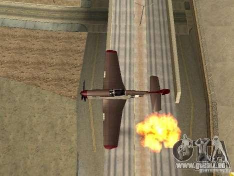 Air Strike pour GTA San Andreas deuxième écran