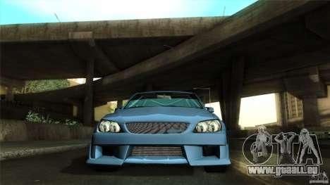 Lexus IS 300 Veilside pour GTA San Andreas vue de côté