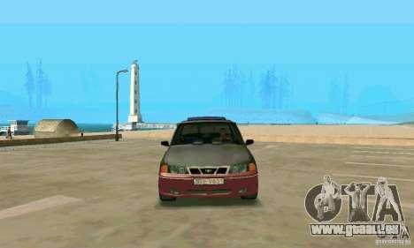 Daewoo Nexia Tuning pour GTA San Andreas vue de droite