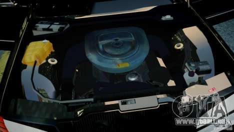 Mercedes-Benz 560 SEL Black Edition für GTA 4 rechte Ansicht