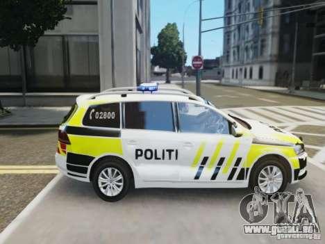 Volkswagen Passat B7 Variant 2012 pour GTA 4 est une vue de l'intérieur