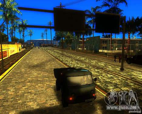 UAZ 330364 für GTA San Andreas zurück linke Ansicht