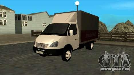 GAZ 3302 Gazelle für GTA San Andreas