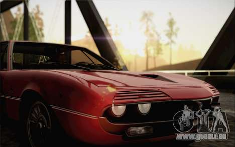Alfa Romeo Montreal 1970 pour GTA San Andreas vue de droite