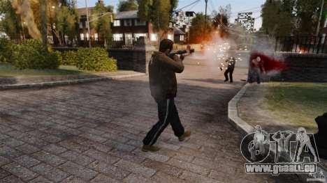 Les véritables dégâts des armes pour GTA 4 quatrième écran