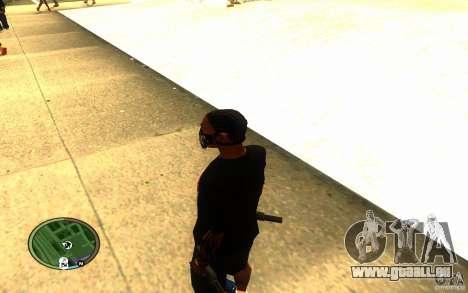 Skull Mask pour GTA San Andreas quatrième écran