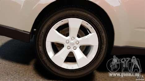 Subaru Forester 2008 XT für GTA 4 Rückansicht