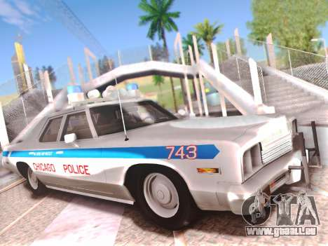 Dodge Monaco 1974 pour GTA San Andreas salon