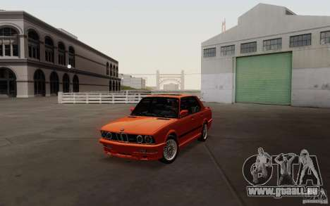 BMW M5 E28 pour GTA San Andreas
