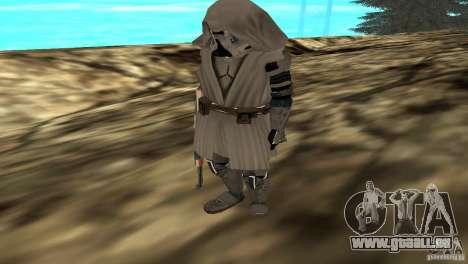 Commander Keller pour GTA San Andreas deuxième écran