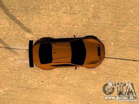 Toyota FT86 Rocket Bunny V2 pour GTA San Andreas vue de dessus