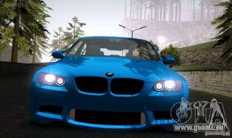 BMW M3 E90 für GTA San Andreas linke Ansicht