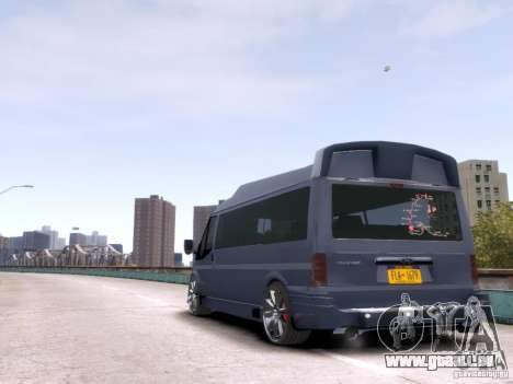 Ford Transit Sport Edition RV 2013 für GTA 4 rechte Ansicht