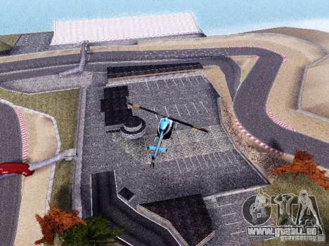 Laguna Seca Raceway pour GTA San Andreas deuxième écran