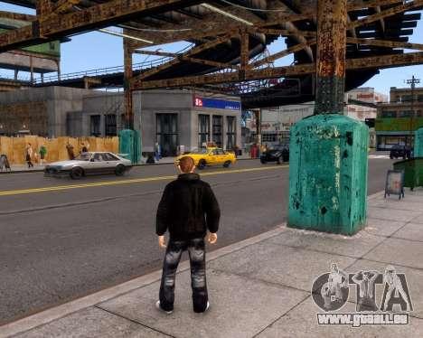 Veste Jacket pour GTA 4 cinquième écran
