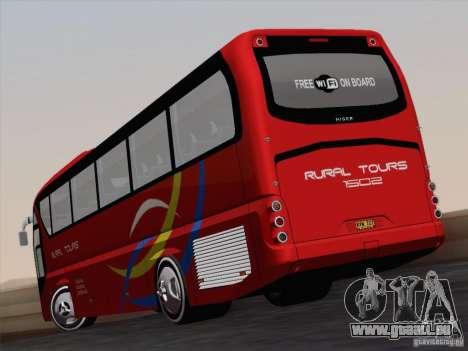 Neoplan Tourliner. Rural Tours 1502 für GTA San Andreas Innenansicht
