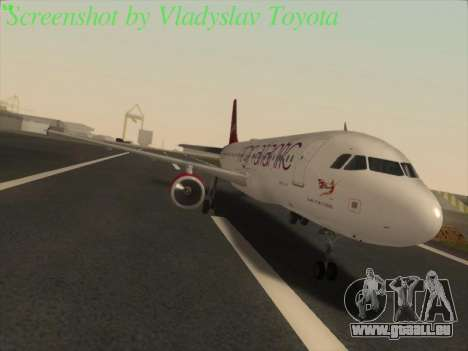 Airbus A320-211 Virgin Atlantic pour GTA San Andreas