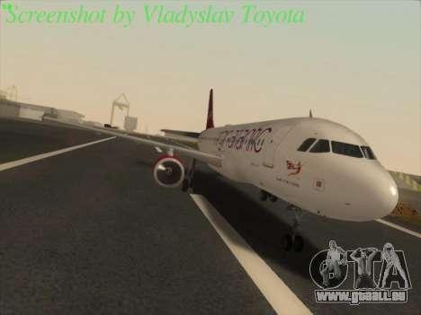 Airbus A320-211 Virgin Atlantic für GTA San Andreas