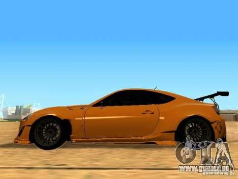 Toyota FT86 Rocket Bunny V2 pour GTA San Andreas laissé vue