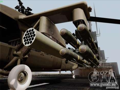 S-70 Battlehawk pour GTA San Andreas vue de droite