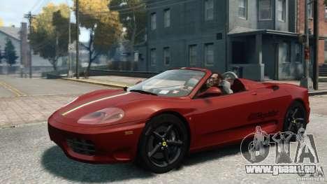 Ferrari 360 Spider 2000 pour GTA 4