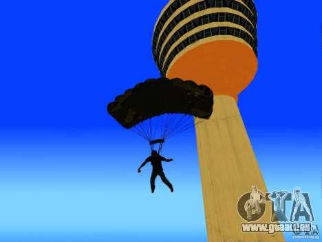 Global Parachute Mod für GTA San Andreas fünften Screenshot