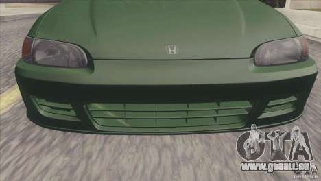 Honda Civic EG6 für GTA San Andreas rechten Ansicht