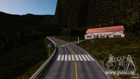 New Akina pour GTA 4 troisième écran