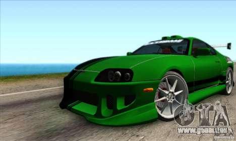 Toyota Supra Tunable für GTA San Andreas Seitenansicht